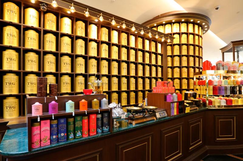 ชา ทีดับเบิลยูจี ที, ชา TWG Tea